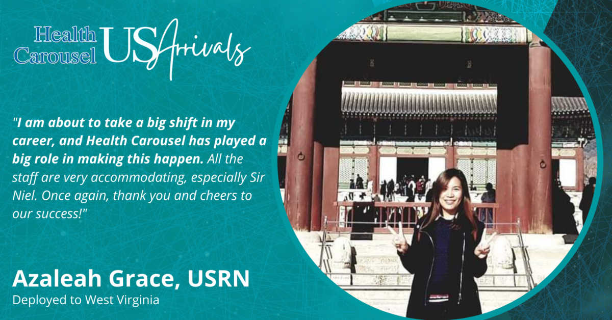 """Very Accomodating."" – Azaleah Grace, USRN"